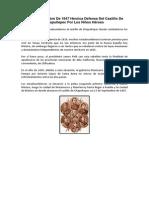 Antologia de Hechos y Tradiciones Historicos