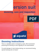 Immersion Suit Servicemanual