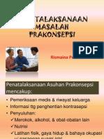 5.Penatalaksanaan Masalah Prakonsepsi