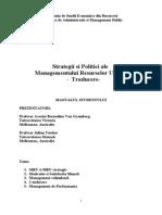 Traducere Strategii Si Politici Ale Managementului Resurselor Umane (1)
