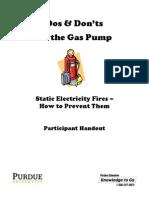 Gas Pump Do & Dont's