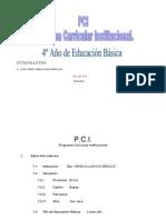 PCI de 4 Año de Educación Básica