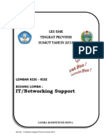 Kisi-kisi LKS SUMUT-IT Network Support. 2013docx