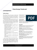 SI_solar Energy and Clean Energy_trends and Development