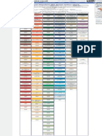 Federal Color Shade or Chart