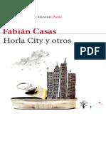 Fragmento Horla City y Otros