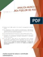 AMSEP 4 Analiza Muncii Fise de Post VD