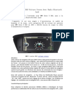 BMW 5 Series E60 Voiture Stereo Avec Radio Bluetooth iPod