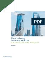 2013 Deloitte CSG China Real Estate Investment Handbook 250713