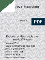 Brief History of Mass Media