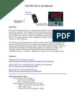 UT150 OPC Server via Ethernet