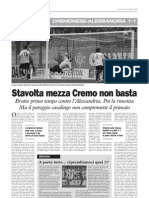 La Cronaca 16.11.2009