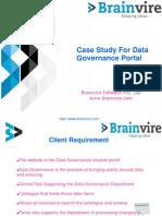 Case Study For Data Governance Portal