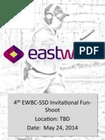 EWBC 4th Invitational Fun Shoot Course of Fire