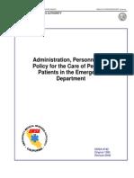picu policy