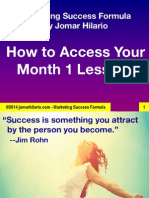 How to Access Your MSF Month1 Lessons 2014 PDF by Jomarhilario