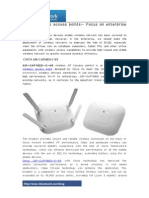 Cisco Wireless Access Points- Focus on Enterprise Wireless
