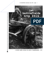 World War One Battlefields Trip - 3 Days