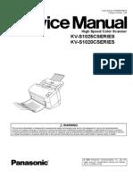 Panasonic Kv s1025c Scanner