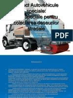Proiect Autovehicule Speciale - Autospeciale Pentru Colectarea Deseurilor Stradale