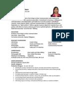 Mass Communication Graduate Karla Louise Agleam-1