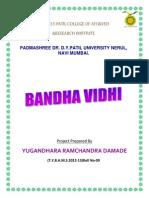Bandha Vidhi Final