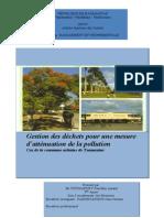 Gestion Des Déchets Pour Une Mesure d'Atténuation de La Pollution