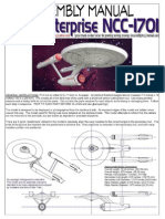 Enterprise NCC-1701 [Classic Series] Paper Model