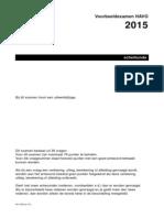 Voorbeeldexamen Scheikunde Havo 2015 Opgaven