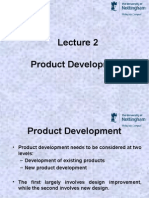 Lecture 2 - Product Development