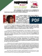 IU-Alcalá Sale Motivada y Reforzada Tras Duplicar de Largo Los Resultados en Las Europeas