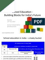 School Vision 2025 India