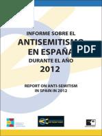 Informe Antisemitismo 2012.1