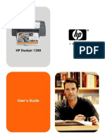 HP Deskjet 1280 Users Guide