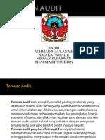 Presentasi Temuan Audit Klp 1(4ad4)