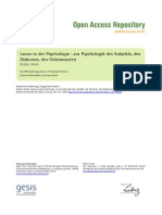 Lacan Und Die Psychologie