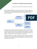 Financial Management in Scientific Organisationsscribd