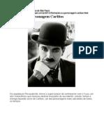 Chaplin e o Personagem Carlitos
