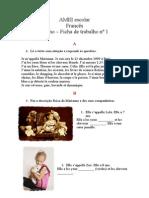 Ficha de Trabalho Nc2ba 1 Frances