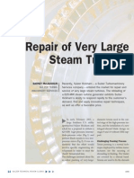 Suzler Large Steam Turbine