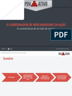 eBook o Coordenador de Merchandising Em Acao