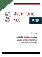 Original Mikrotik Mtcna-0905