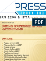 Complete Information on IRS Form 2290 Instructions