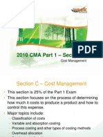 New CMA Part 1 Section C