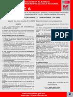 Convocatorias 2014, Ldc, Lie, Lepepmi 90, Mdc, Meb y Mecfid