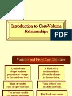 CVP Relationship