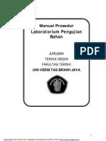 MP Lab Pengujian Bahan TM UB