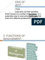 2. Functions of Management
