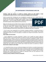 Communiqué FamiHero/Groupe M6/Jaïna Capital
