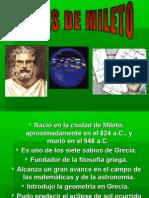 Tales de Mileto.